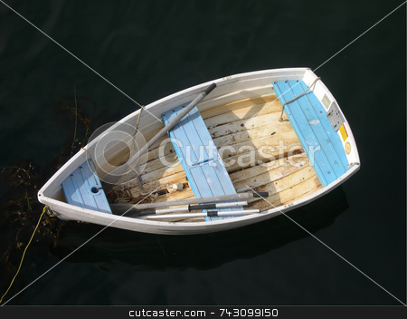Lone boat stock photo,  by Jodi Baglien Sparkes