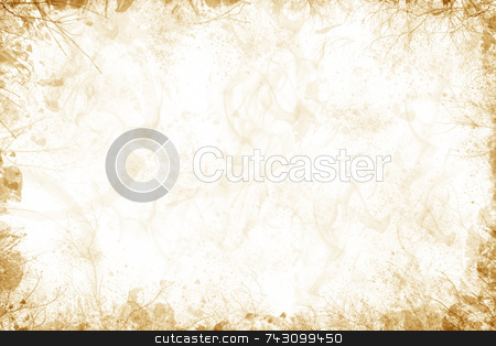 Soft earthy frame stock photo, Use for a border or frame by Jodi Baglien Sparkes