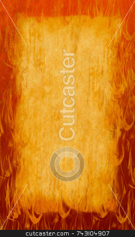 Hot Rod Flames background stock photo, Hot flames as a background by Jodi Baglien Sparkes