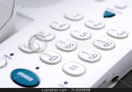 Business phone stock photo, Shallow focus business phone by Vince Clements