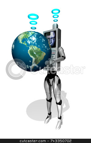 Intergalactic communication stock photo, Intergalactic communication by John Teeter