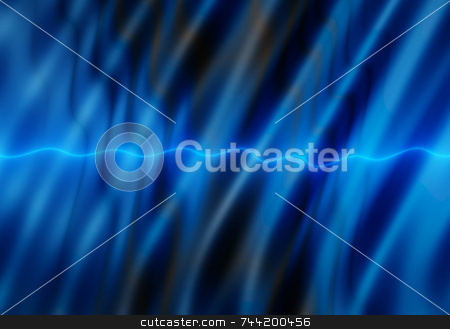 Dark blue water ripples over a light blue line. stock photo, Dark blue water ripples over a light blue line. by Stephen Rees