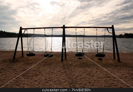 Swing stock photo,  by Kjell Westergren