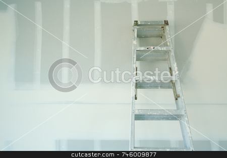 New Sheetrock Drywall Abstract stock photo, New Sheetrock Drywall Abstract Background by Andy Dean