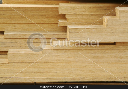 Stack of Construction Wood stock photo, Abstract Stack of Construction Wood by Andy Dean