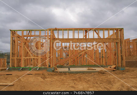 Home construction stock photo,  by Greg Peterson