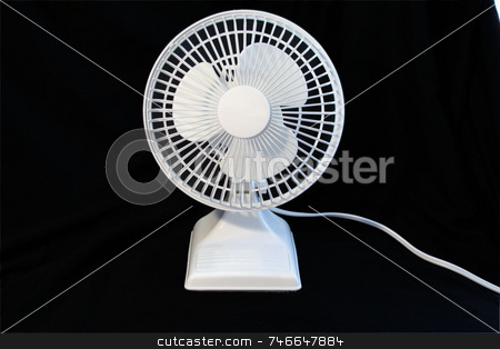 Isolated fan stock photo,  by Greg Peterson