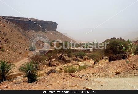 Sahara stock photo, View of the sahara desert in mauritania by Kobby Dagan