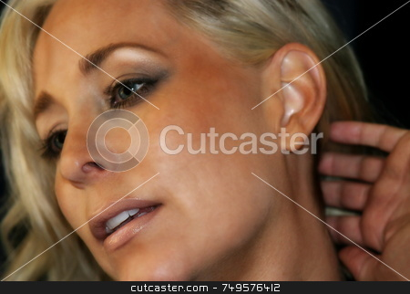 Woman confident stock photo,  by Henrik Lehnerer