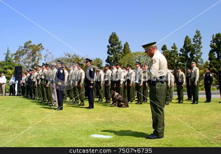 Ventura County Peace Officers Memorial Service stock photo, Ventura County Peace Officers Memorial service Thursday, May 22, 2008 by Henrik Lehnerer