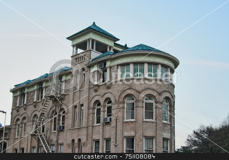 Old Building stock photo, A old historic old building reaching into the sky by Kevin Tietz