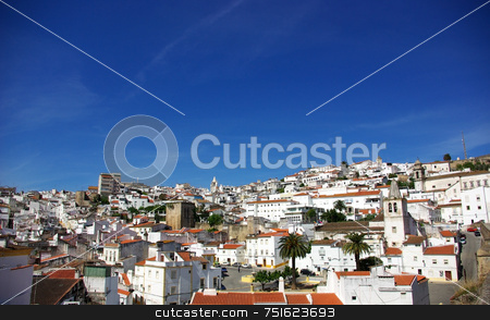 Old city of Elvas. stock photo, Old city of Elvas, south of Portugal. by Inacio Pires
