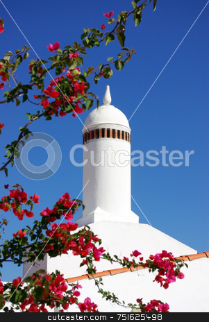 Traditional chimney . stock photo, Traditional chimney in Alentejo. by Inacio Pires