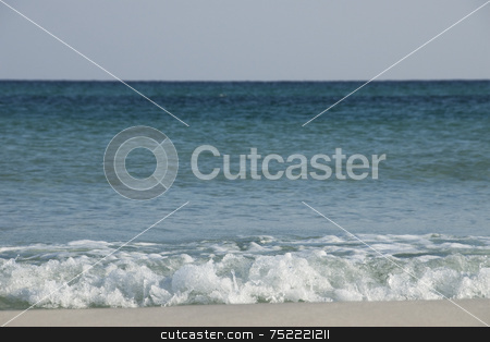Tropical Waters stock photo, Tropical Beach by A Cotton Photo