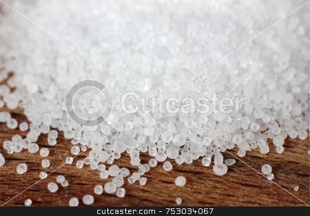 Salt Macro stock photo, A macro shot of salt grains (shallow depth of field) by Georgios Alexandris