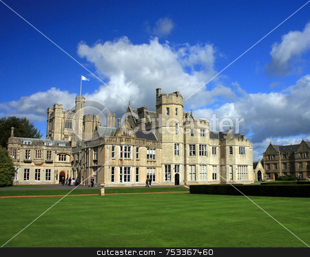Historic Building stock photo, A historic building in dorset in the UK. by Lucy Clark