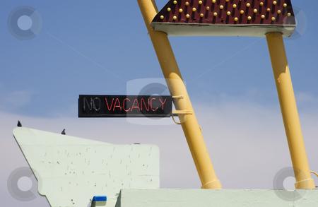 Vacany stock photo, Neon