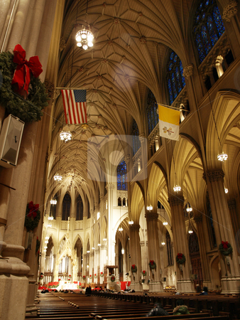 St patrick cathedral stock photo, New york city st patrick cathedral by CRISTINA TOSI