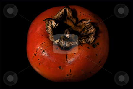 ... a persimmon	 stock photo,  by emiliano beltrani