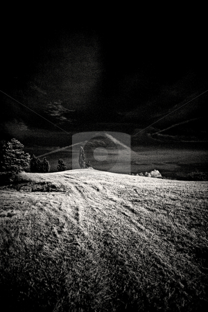 ... an infrared hill top stock photo,  by emiliano beltrani