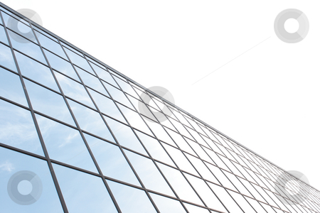 Corporate office windows stock photo, Rows of glass corporate office building windows by ImageZebra .