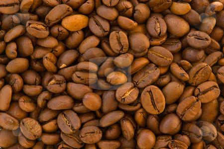 Coffee beans stock photo, Espressomischung aus Arabica und Robusto Bohnen by Wolfgang Heidasch