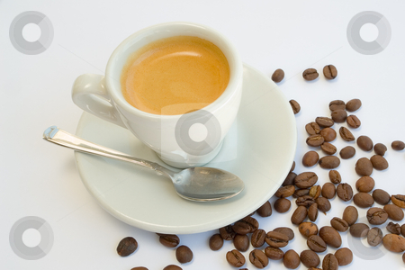 Espresso stock photo, Espresso by Wolfgang Heidasch