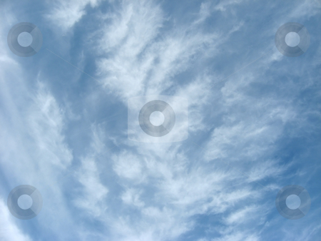 Whispy Clouds stock photo,  by Tom and Beth Pulsipher