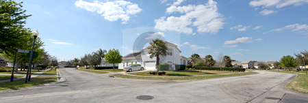 Florida Estate stock photo, A View of an Estate in Florida by Lucy Clark