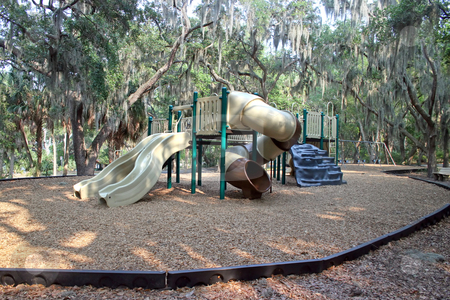 Playground stock photo, A Playground in a Community in Florida by Lucy Clark