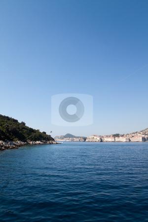 Stunning Coastline stock photo, The beautiful coastline of Dubrovnik, Croatia  by Kevin Tietz