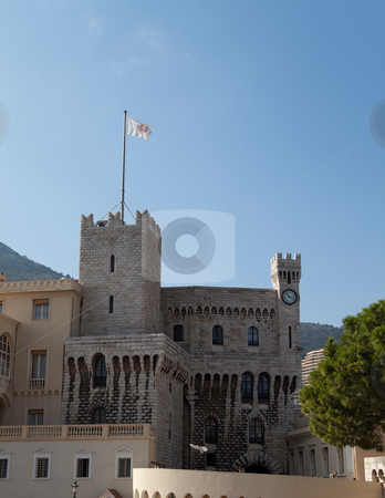 Princes Palace of Monaco stock photo, The Princes Palace of Monaco also known as the Grand Palace by Kevin Tietz
