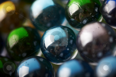Abstract background from glass colour spheres stock photo, Abstract background from glass colour spheres by krasyuk