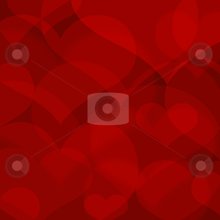Beautiful redl heart shape background stock photo, beautiful redl heart shape background by krasyuk