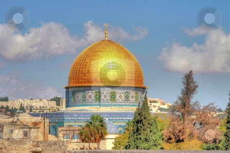 The dome of the rock stock photo, The dome of the rock by Lior Peretz