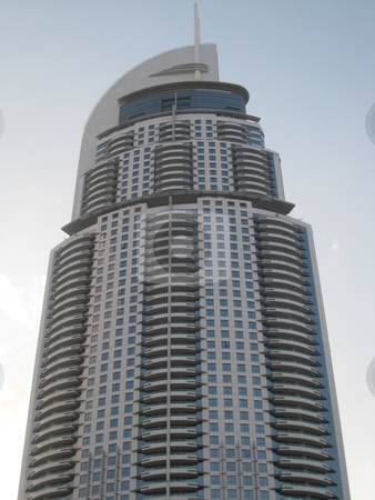 Skyscraper in Dubai stock photo, Skyscraper in Dubai, United Arab Emirates by Ritu Jethani
