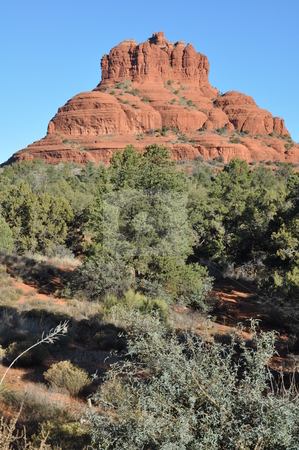 Red Rocks in Sedona stock photo, Red Rocks in Sedona, Arizona by Ritu Jethani