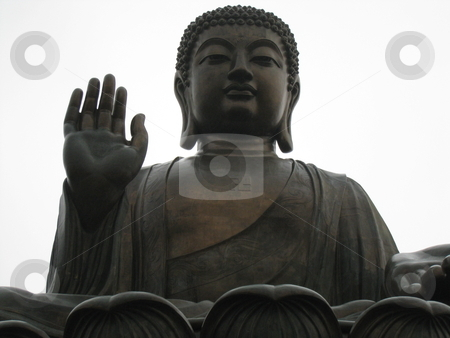 Tian Tan Buddha in Lantau stock photo, Tian Tan Buddha in Lantau, Hong Kong by Ritu Jethani
