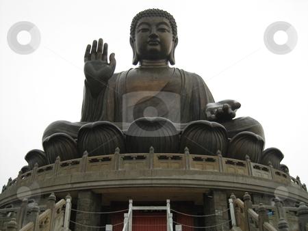 Tian Tan Buddha in Lantau stock photo, Tian Tan Buddha in Lantau, Hong Kong by Ritu Jethani