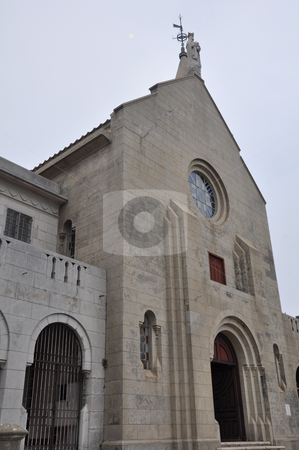 Our Lady of Penha Church  stock photo, Our Lady of Penha Church in Macau by Ritu Jethani