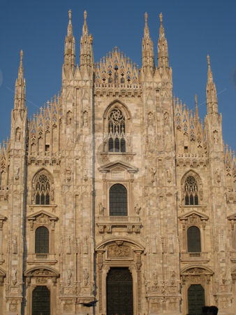 Duomo Cathedral in Milan stock photo, Duomo Cathedral in Milan, Italy by Ritu Jethani