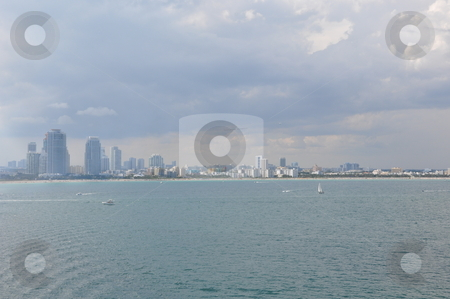View of Miami stock photo, View of Miami, Florida by Ritu Jethani