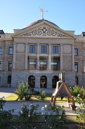 Arizona State Capitol stock photo, Arizona State Capitol in Phoenix by Ritu Jethani