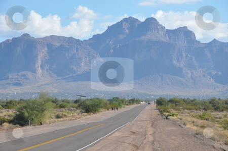 Apache Trail in Arizona stock photo, Apache Trail in Arizona, USA by Ritu Jethani