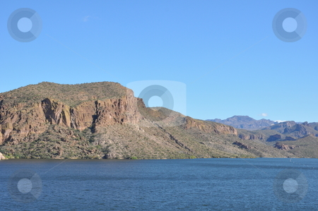 Apache Lake in Arizona stock photo, Apache Lake in Arizona, USA by Ritu Jethani
