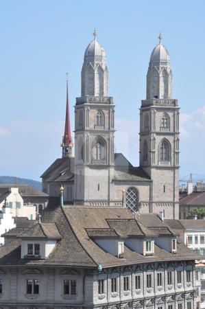 Zurich in Switzerland stock photo, Downtown Zurich in Switzerland by Ritu Jethani