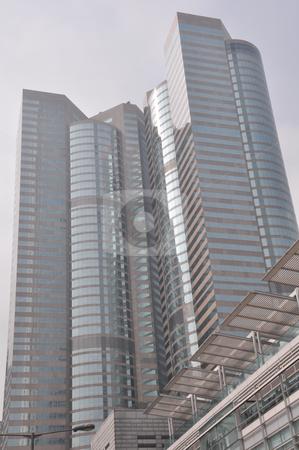 Skyscrapers in Hong Kong stock photo, Skyscraper in Hong Kong, Asia by Ritu Jethani