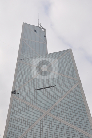 Skyscraper in Hong Kong stock photo, Skyscraper in Hong Kong, Asia by Ritu Jethani