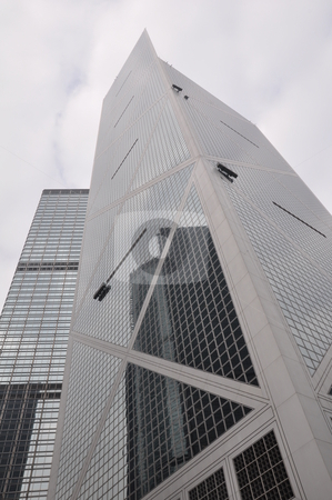 Skyscraper in Hong Kong stock photo, Skyscraper in Hong Kong, Asia by Ritu Jethani