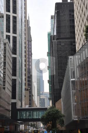 Skyscrapers in Hong Kong stock photo, Skyscrapers in Hong Kong, Asia by Ritu Jethani